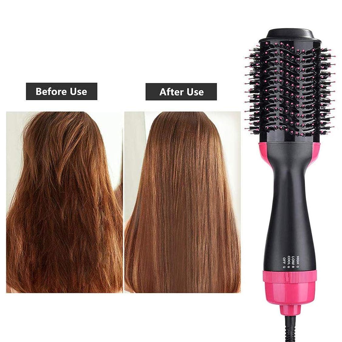 泣く取得する定常ワンステップヘアドライヤーコーム、3-1 - 多機能イオン矯正機カーラーカーラーすべての髪の種類に適したホットエアーコーム