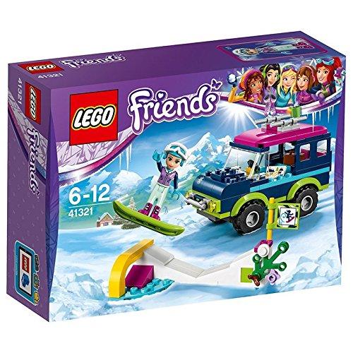 """Lego Friends 41321 - \""""Geländewagen im Wintersportort Konstruktionsspiel, bunt"""