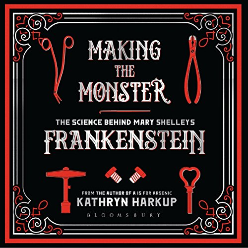 Making the Monster audiobook cover art