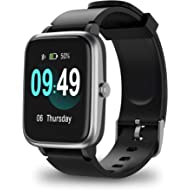 ANBES Smart Watch, IP68 Waterproof Fitness Tracker with Heart Rate Monitor, Step Counter Sleep...