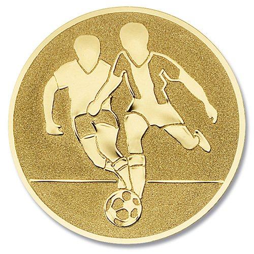 Coppa-emblem Pallone da calcio oro