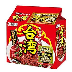 """寿がきや 台湾ラーメン 5食パック 460g×6袋"""""""