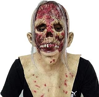 HUIMEIS AU Halloween Haunted House Secret Mask Series Ghost Detective Devil Latex Headdress (Color : B)