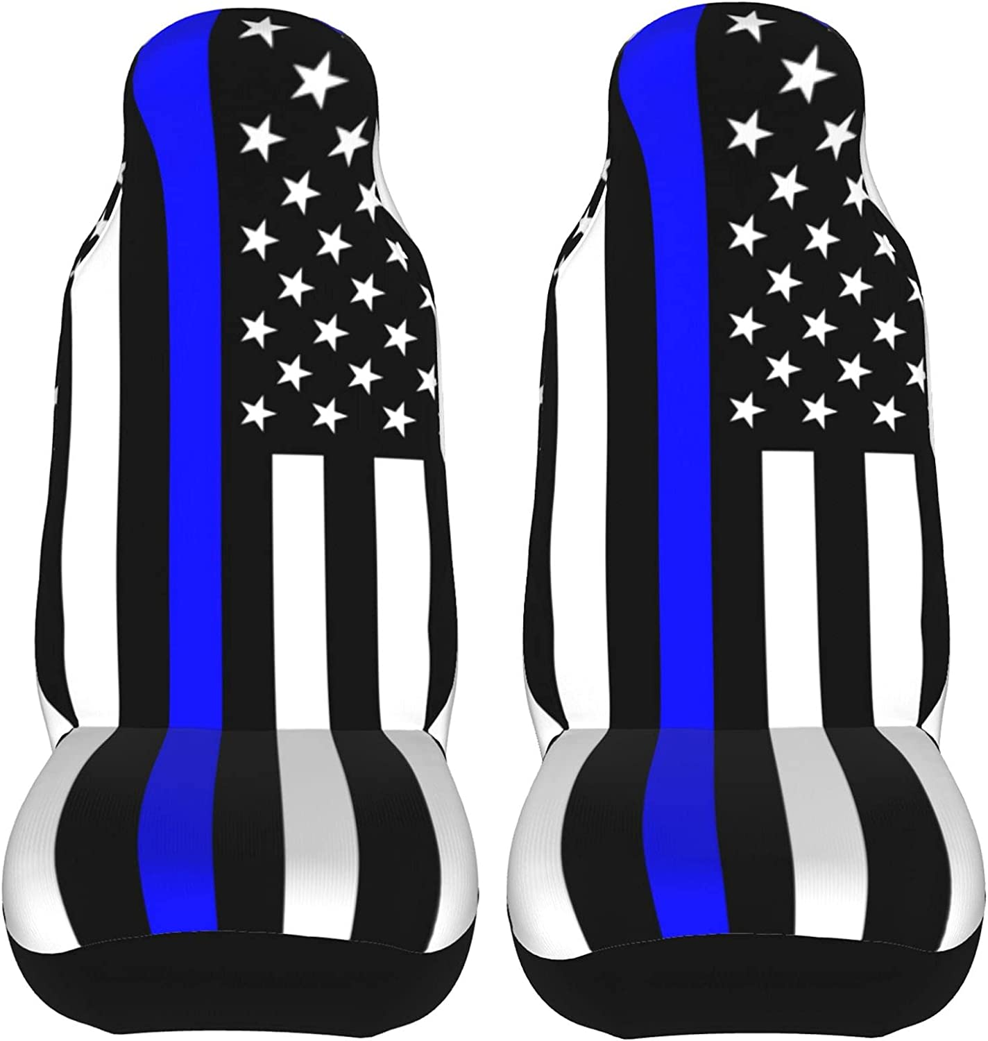 Black Gray Blue low-pricing Line New arrival American Flag Car to Easy Cover I 2pcs Seat