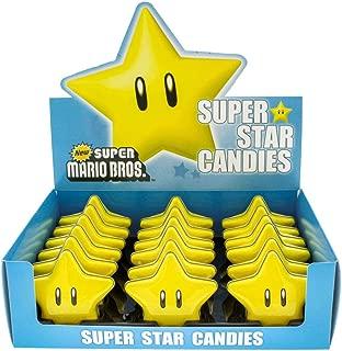 Candy Super Mario Super Star Candies 18 Pcs. Set