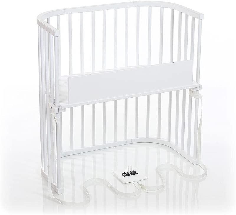 Babybay Bedside Sleeper Pure White Finish