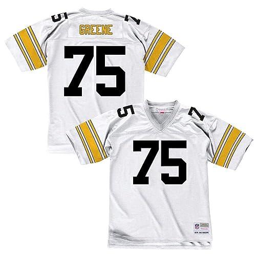 203c0454e99 Mitchell   Ness Joe Greene 1976 Pittsburgh Steelers Road White Legacy Jersey