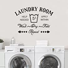 Best laundry room wall decal vinyl Reviews