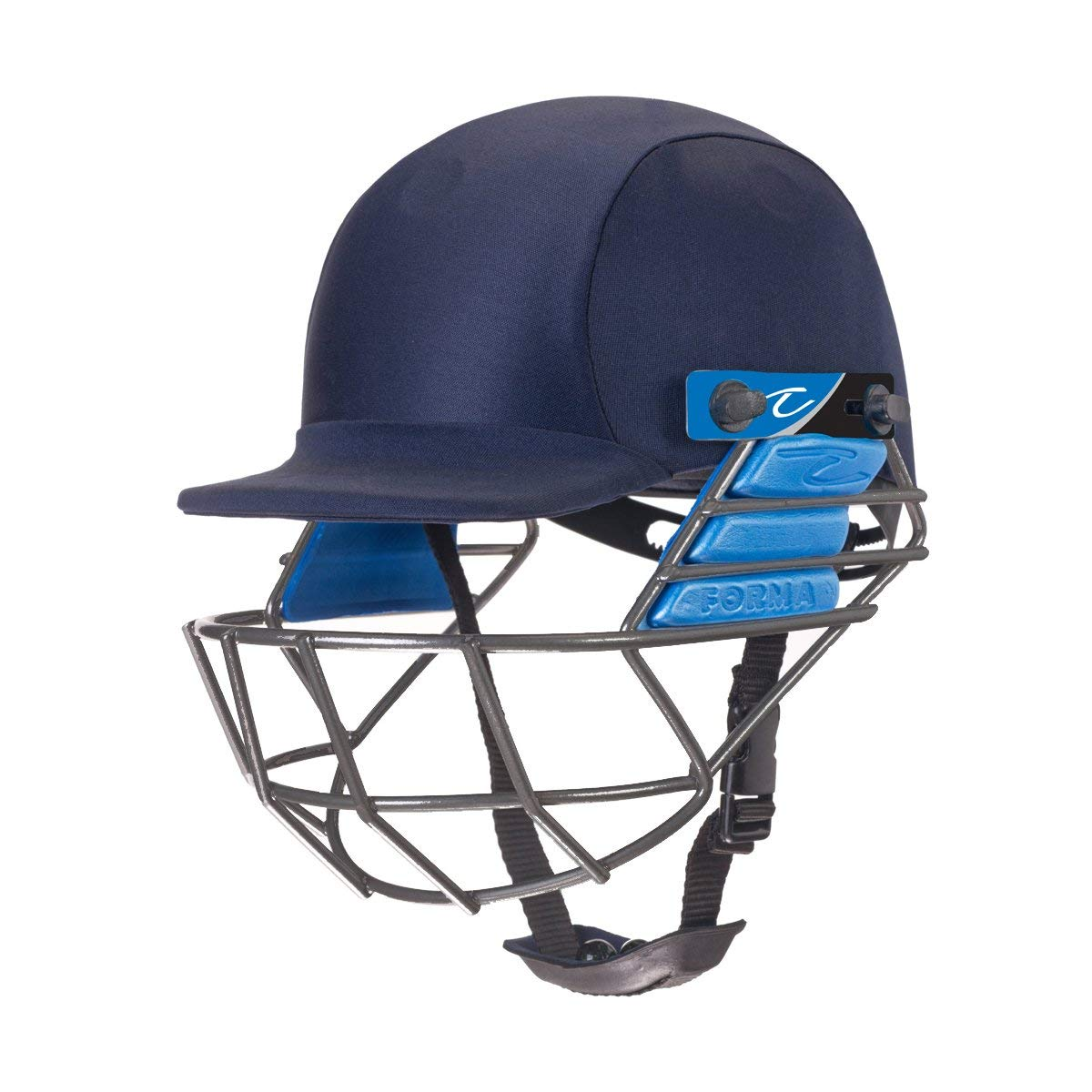 FORMA PRO SRS Helmet with Mild Steel Grill Navy Blue