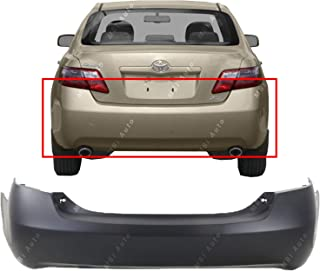 MBI AUTO - Primered, Rear Bumper Cover Replacement for 2007-2011 Toyota Camry 07-11, TO1100244