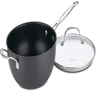 Cuisinart Chef's Classic Nonstick Hard-Anodized 4-Quart Chef's Pan with Helper Handle and Glass Cover