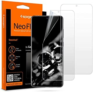 2pcs Spigen Screen Protector For Samsung Galaxy S20 Ultra, Flexible Clear against scratches and fingerprints