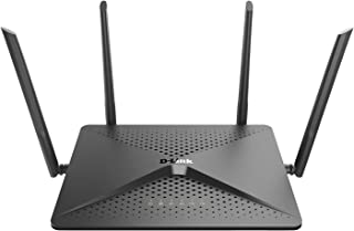 D-Link Exo Wifi Router AC2600 MU-Mimo – 4K Streaming and Gaming with USB Ports, 4x4 Dual Band Wireless Router (DIR-882-US)