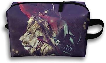 Magic Lion Big Cat Travel Bag Toiletries Bag Phone Coin Purse Cosmetic Pouch Pencil Case Tote Multifunction Organizer Storage Bag