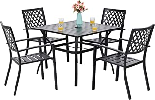 Best teak dining table and chairs Reviews