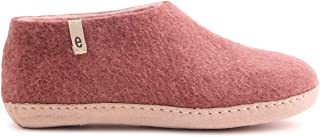 House Slippers for Women Man- Bedroom - 100% Sheep Wool Handmade Natural Sheep Wool Egos Shoe Classic