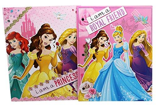 Disney Princess I Am a Princess Folder Set (2 Folders)