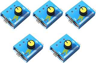 5pcs RC Helicopter Motor Servo Tester, Aeromodelling Remote Speed Controller Server Electrical Equipment CCPM Servo Consistency Master with 3 Mode Indicator Input Voltage 4.8-6V