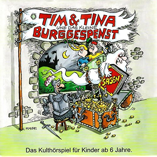 Tim und Tina und das kleine Burggespenst Titelbild