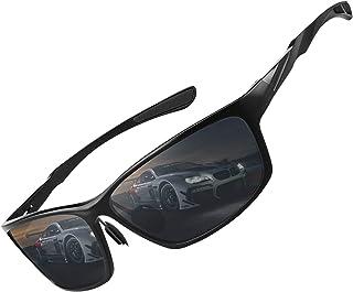 Polarized Sunglasses for Men and Women, Al-Mg Metal Frame...