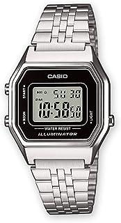 Casio Stainless Steel Silver Dress Watch For Women - LA680WA-1DF