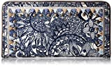 Sakroots Artist Circle Slim Wallet, Navy Spirit Desert
