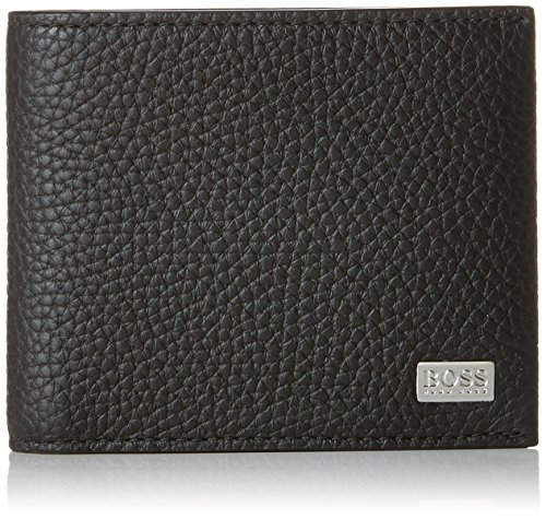BOSS Herren Crosstown_trifold Geldbörse, 2 x 9,5 x 12 cm, Schwarz (Black)