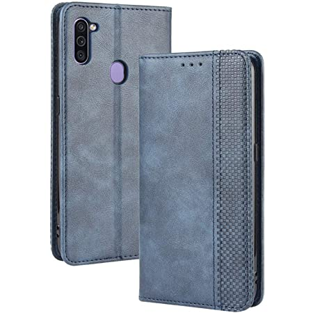 Lagui Compatible With Samsung Galaxy M11 Case Leather Elektronik