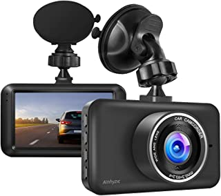 Dash Camera 1080P Full HD Resolution 3 Screen Car Driving Recorder with Night Vision,140°Wide Angle Car Camera with Parking Monitor,Motion Detection,Loop Recording Dashboard Camera