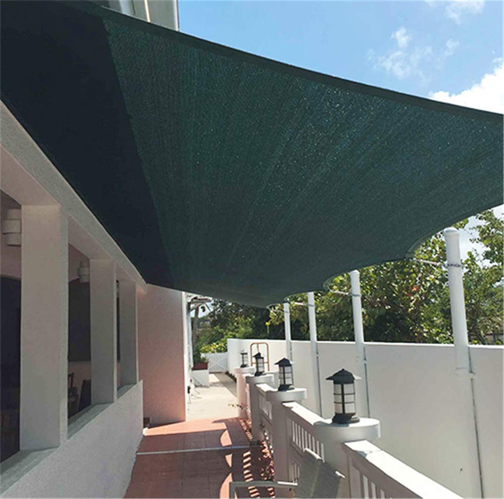 ZMXZMQ Tela De Sombra Tela De Protección Solar con Arandelas para ...