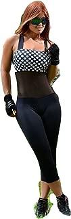 Ola-la Women's Sport One Piece Jumpsuit