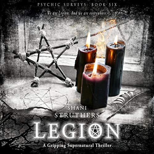 Couverture de Legion: A Gripping Supernatural Thriller