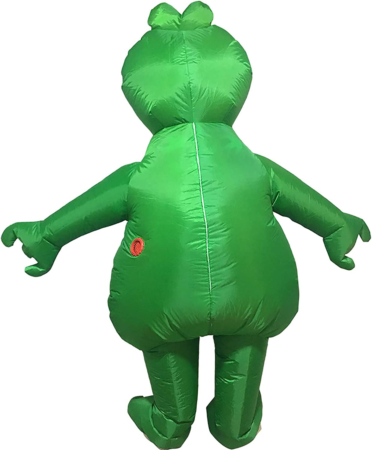 Funny Cute Little Frog Inflatable Costume, Blow Up Suit, Cosplay Costume, Jumpsuit Green