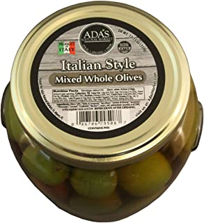 ADA'S Natural Market Whole Italian Mixed Olives – 19.4 OZ