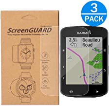 [3-Pack]For Garmin Edge 520 Plus Screen Protector,Full Coverage Screen Protector for Garmin Edge 520 Plus GPS HD Clear Anti-Bubble and Anti-Scratch