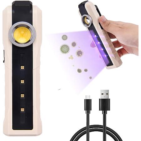 Sterilizzatore UVC Lampada Ultravioletta Disinfettante Per Casa Ufficio Viaggi Lampada UVC Sterilizzatore Portatile con Indice Antibatterico 99.9/% TDC Lampada Uv Germicida