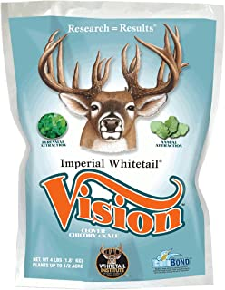 Whitetail Institute Imperial Whitetail VISION Food Plot Seed (New for 2019)