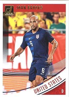 c07d00f05 Amazon.com  2018-19 Donruss  173 John Brooks United States Soccer Card   Collectibles   Fine Art