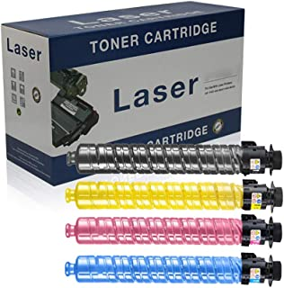 Compatible Toner Cartridges Replacement for RICOH MPC3300C Toner Cartridge for RICOH Aficio MPC2800 MPC3300 MPC4000 MPC500...