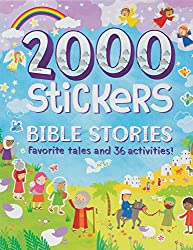 Bible Stories 2000 Stickers Paperback