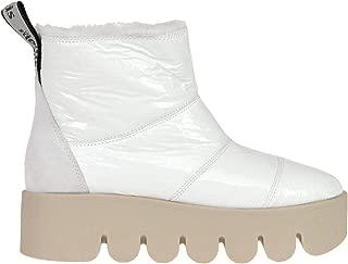 MOLLIS Luxury Fashion Womens MCGLCAS000006131I White Ankle Boots | Season Outlet