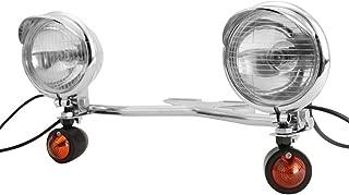 INNOGLOW Motorcycle Passing Light Bar Projector Turn Signals Driving Spot Light For Honda Suzuki Yamaha Kawasaki Harley Davidson Cruiser