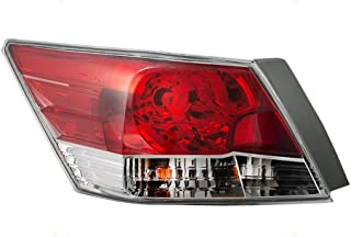 Taillight Tail Lamp Driver Replacement for 08-12 Honda Accord Sedan 33550TA0A01