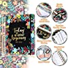 """Planner 2021-2022 - Academic Planner 2021-2022 Weekly & Monthly, Jul 2021 - Jun 2022, 8"""" x 10"""", Tabs, Gift Box, Pocket, Luxury Vegan Cardboard, Ruler, Twin-Wire Binding, Thick Paper, 15 Note Pages #5"""