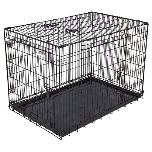 Petmate Navigator Pet Carrier with Antimicrobial Protection Great Crate Elite, Triple Door Dog Crate