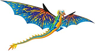 "Brainstorm Dragon WindnSun 3-D Nylon Kite, 76"""