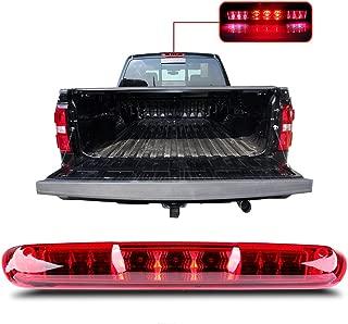 For 2007-2013 Chevy Silverado/GMC Sierra High Mount Brake Light Red Lens LED Light LED 3rd Brake Light Cargo Light