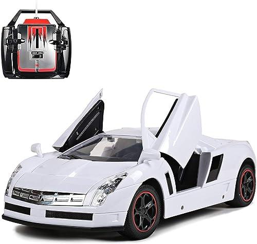 Ycco Spielzeugauto-Drift-Sportauto der Fernbedienung 1  10 Cadillac wiederaufladbare kann die Tür  nen 2.4G RC-fürzeug-Polizei treibt Rennen-Modell elektronische laufende Geschenke für Jungenm he