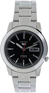 Seiko 5 Men Silver Automatic Analog Watch - SNKE53J1