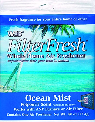 Web Products WOCEAN Ocean Mist Scent FilterFresh Whole Home Air Freshener